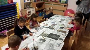 Otroci ustvarjajo svoje maske