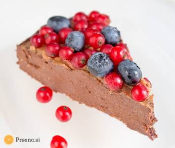 Cokoladni-cheesecake