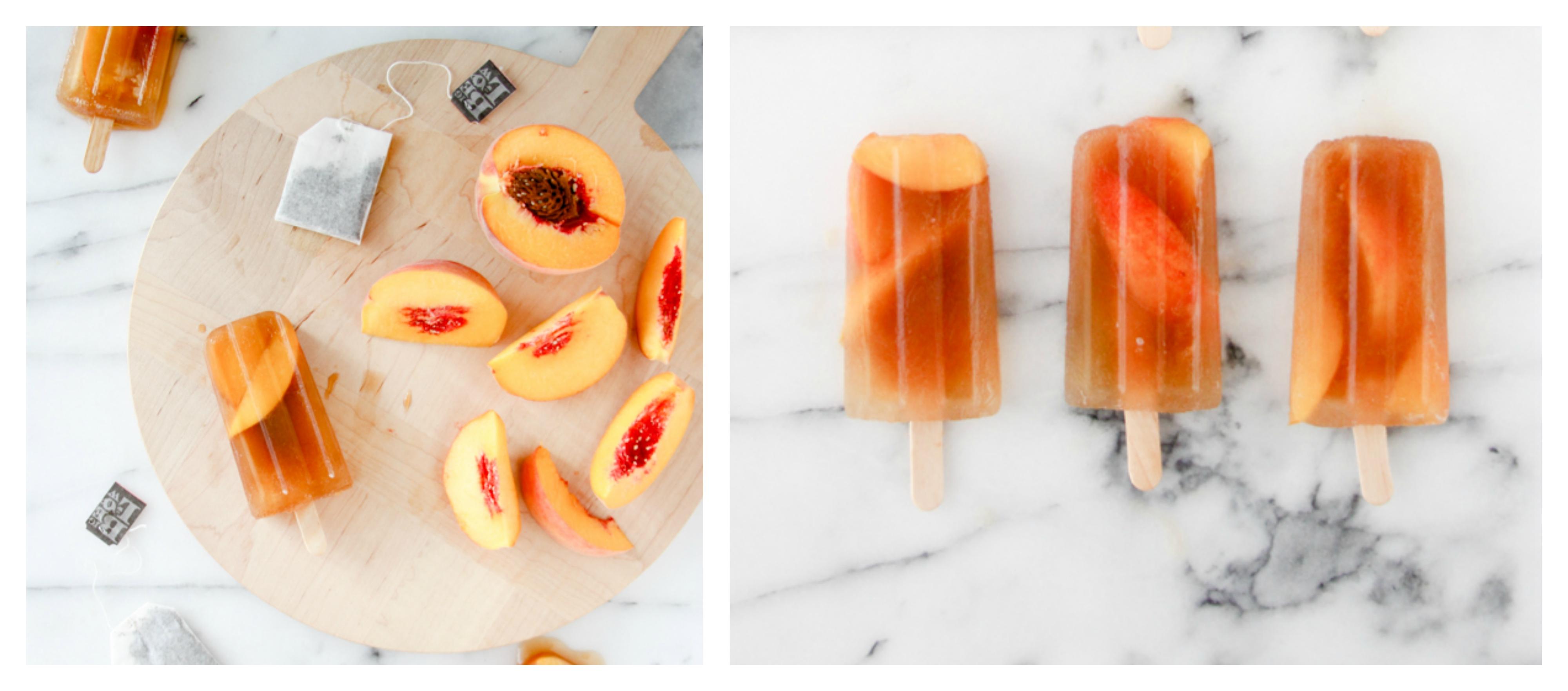 vir: http://www.papernstitchblog.com/2014/07/28/make-this-peach-ice-tea-popsicles-recipe/